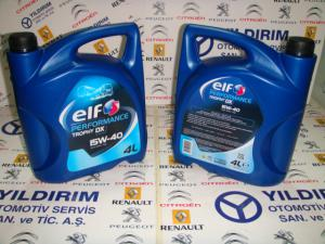 ELF PERFORMANCE TROPHY DX 15W40 4LT